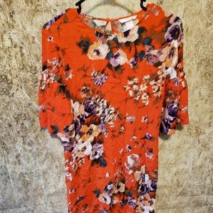 H&M floral beautiful dress size 6.